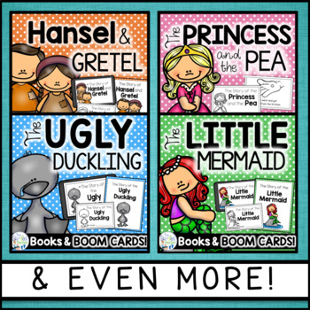 Fairy Tales Emergent Readers {MEGA Bundle #1}  (Distance Learning)