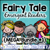 Fairy Tales Emergent Readers, Boom Cards™, & Full-Sized Cl