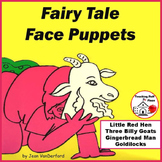 Storytelling FAIRY TALES |  FACES | Color | Tell | Act | Sequence | Gr  K-1-2