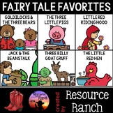 Fairy Tale Favorites Activities and Worksheets Bundle