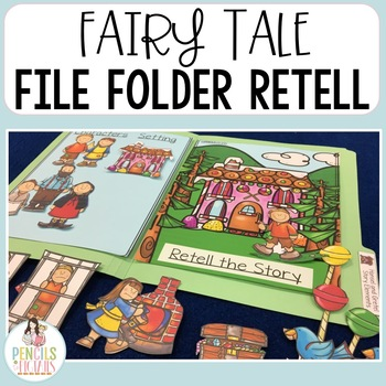 Fairy Tale File Folders Part 1 - Identify Character, Settings, & Major Events