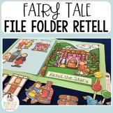 Fairy Tale File Folders Part 1 - Identify Character, Setti