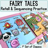 Fairy Tale File Folders Part 2 - Identify Character, Setti