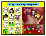 Fairy Tale Finger Puppets Fun Activity Puppet Show Narrati