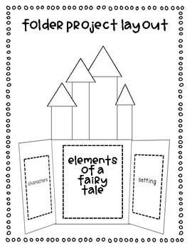 Fairy Tale Folder Project