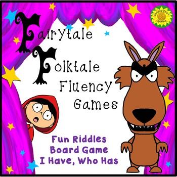 Fairy Tale - Folktale Games for Fluency