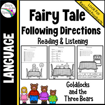 Fairy Tale Following Directions (Reading and Listening)