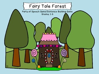 Fairy Tale Forest GAME for Parts of Speech and Sentence Building