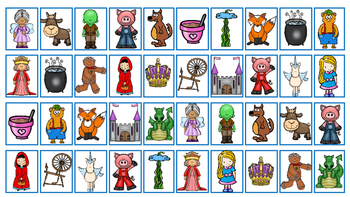 Fairy Tale Four In A Row Game (FREEBIE)