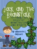 Fairy Tale Fun--Jack and the Beanstalk Enrichment/Extension Opportunities