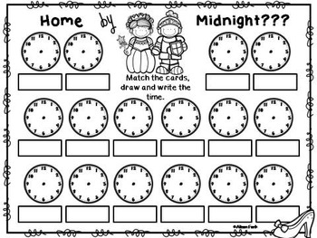 Fairy Tale Fun Part 2   (20 Math Stations, Centers or Pocket Charts)