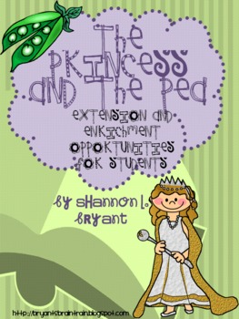 Fairy Tale Fun--Princess and the Pea Enrichment/Extension Opportunities