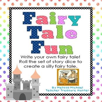 Fairy Tale Fun ~ Roll or spin a unique fairy tale ~ ELA Word Work