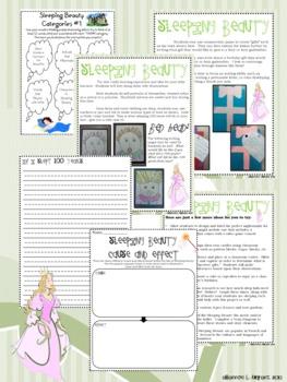 Fairy Tale Fun--Sleeping Beauty Enrichment/Extension Opportunities