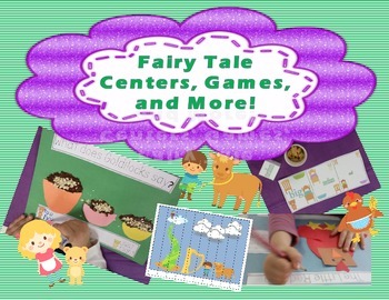 Fairy Tale Fun With Little Red Hen, Goldilocks, and Jack and the Beanstalk