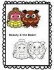 Fairy Tale Graphic Clipart Bundle! Color & Black/White