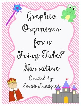 FREEBIE! Fairy Tale Graphic Organizer
