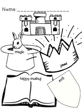 Fairy Tale Graphic Organizer