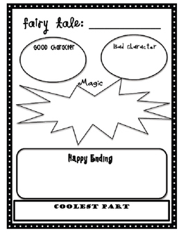 Fairy Tale Graphic Organizer
