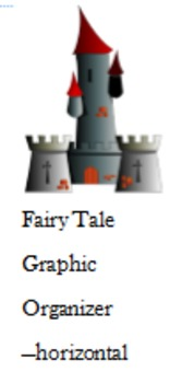Fairy Tale Graphic Organizer--horizontal