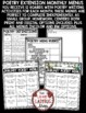 Poetry Writing Activities & Poetry Choice Boards