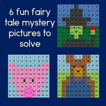 Fairy Tale Hundreds Chart Mystery Pictures