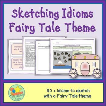 Idioms Word Work - Fairy Tale