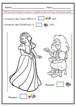 Fairy Tale Informal Measurement