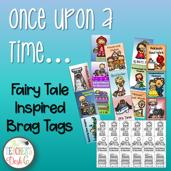 Fairy Tale Inspired Brag Tags