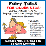Fairy Tales Unit for Upper Elementary! Super Projects, Writing Guide Template!