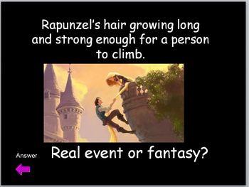 Fairy Tale Jeopardy Game