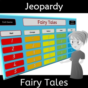 Fairy Tales for Class Relationships Game