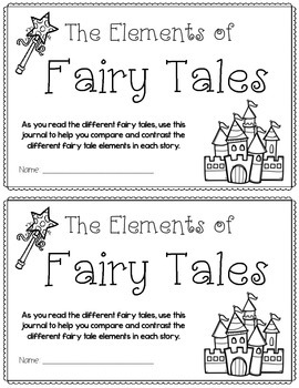Fairy Tale Journals