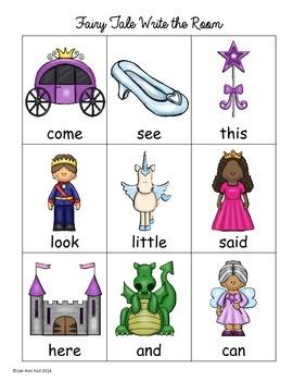 Fairy Tale Kindergarten Unit