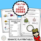 Fairy Tale Land Dramatic Play Forms