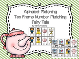 Fairy Tale Letter And Number Match
