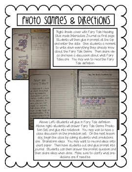 Fairy Tale Lapbook and Literacy Center Bundle Pack