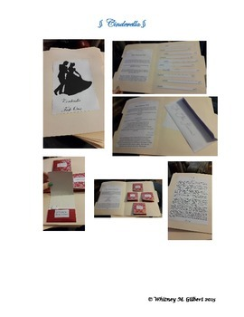 Cinderella Fairy Tale Literacy Center