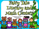 Fairy Tale Literacy and Math Centers