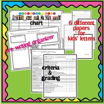 Fairy Tale Mail-Letter Writing, Point of View, Class Book!