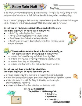 Fairy Tale Mail Project
