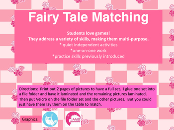 Fairy Tale Matching