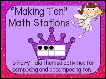 Fairy Tale Math Pack-Making Ten