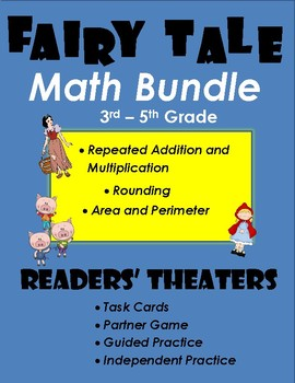 Fairy Tale Math Readers' Theater Bundle