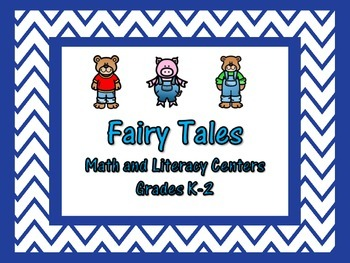 Fairy Tale Math and Literacy Centers