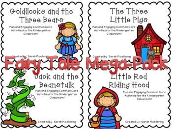 Fairy Tale Mega Pack (Emergent Story Packs w/CCSS)
