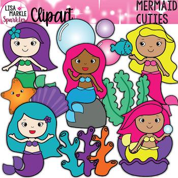 Fairy Tale Mermaid Clipart