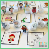 Fairy Tale Mini Books and Story Telling Props