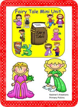 Fairy Tale Mini Unit Activities