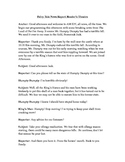 Fairy Tale News Report Script